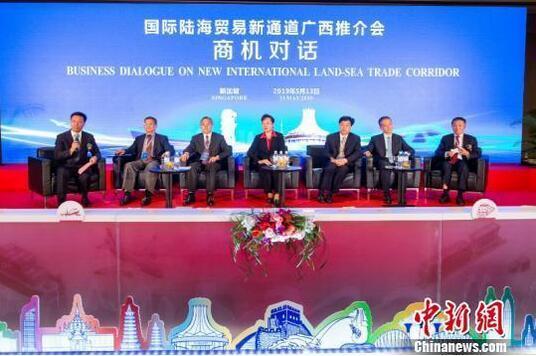 图为广西政企界人士与新加坡企业界代表交流 林浩 摄.jpg