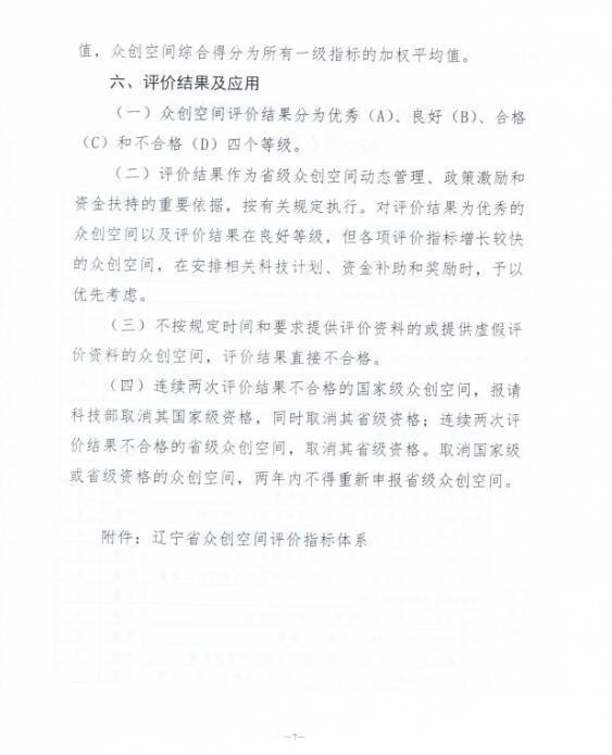 关于印发《辽宁省众创空间评价办法(试行)》的通知6.jpg