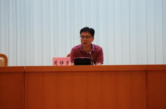 省科技厅高新处张相年副处长讲解2019年广东省高企申报认定的申报程序及注意事项。.jpg