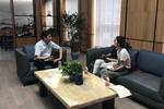 淘科技平台携市科技局对接浙江经都新材料有限公司