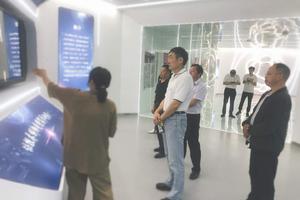 上海交通大学郭常宁教授一行莅临天长科技大市场