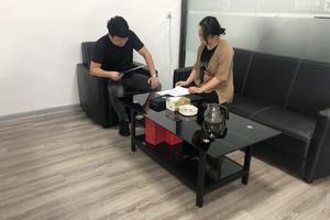 天长市科技大市场走访高新区企业(三)