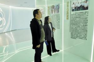 安徽国晖电气科技有限公司到访天长市科技大市场